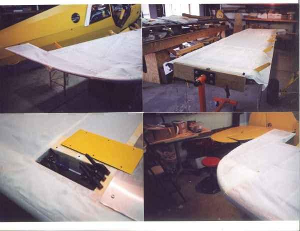 Fabric bottom wing B