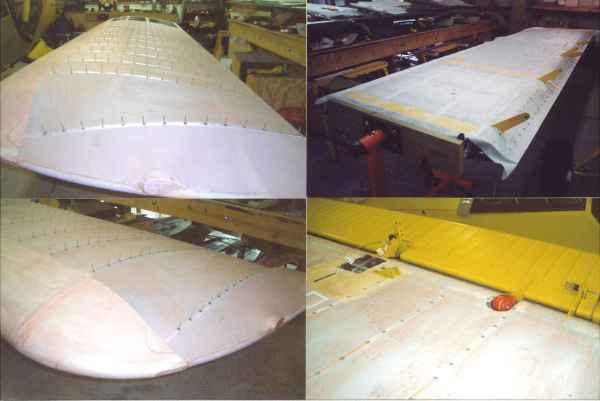 wing fabric rivet
