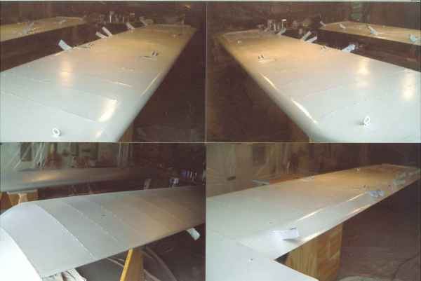 Wing white polytone