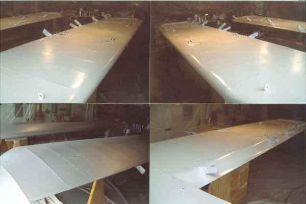 Wing white polytone